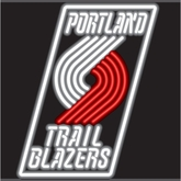 Portland Trail Blazers Neon Sign