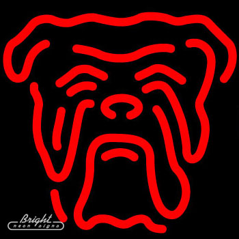 Red Dog Neon Beer Sign