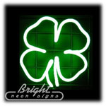 Shamrock Neon Sculpture
