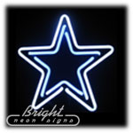 Star Neon Sculpture