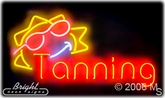 Tanning Bed Neon Sign