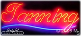 Tanning Beds Neon Sign