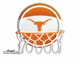 Texas Longhorns Neon Basketball Sign