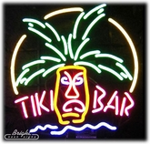 Tiki Bar Idol Neon Sign
