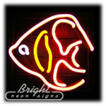 Tropical Fish Neon Sculpture