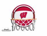 Wisconsin Neon Basketball Sign