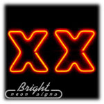 XX Neon Sculpture