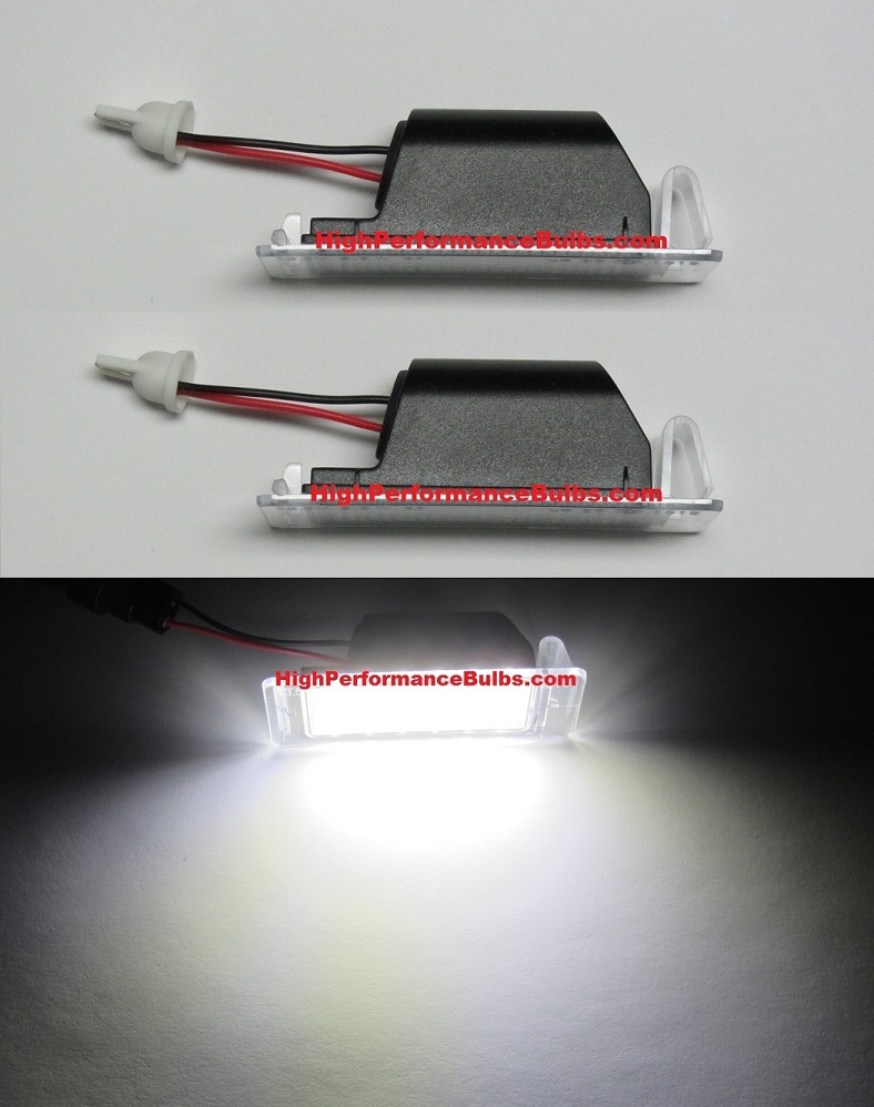2010 2011 2012 2013 Camaro Led License Plate Lamps Lights