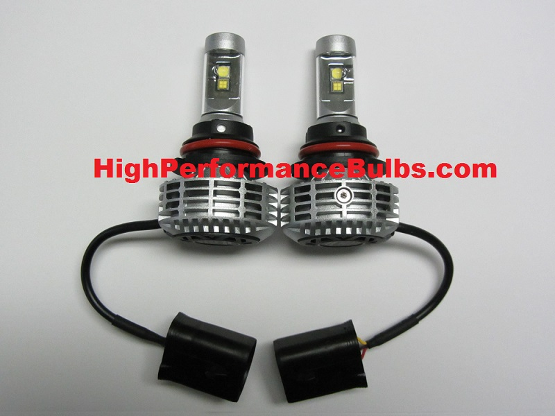 9007 Hb5 Led Headlight Bulb Kit With Led Low And Led High Beam