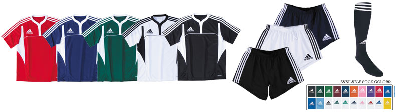 adidas 3 Stripe Rugby Uniform<br>