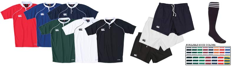 CCC Duel Rugby Uniform<br><br>
