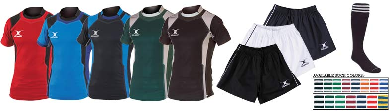 Gilbert Kryten Rugby Uniform<br><br>