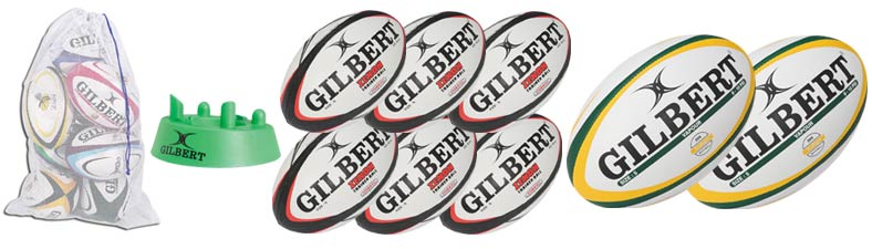 Gilbert Rugby Ball Kit II
