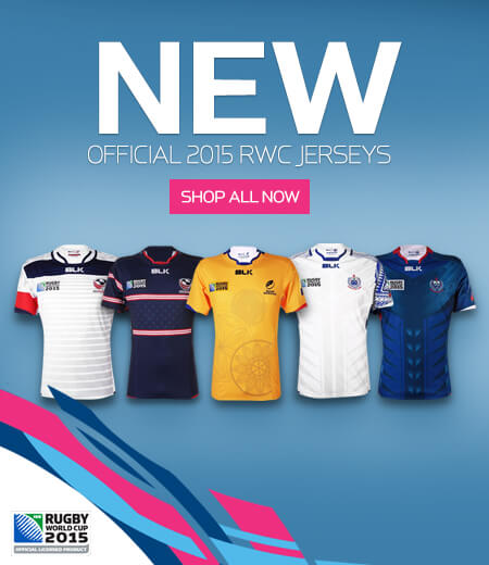 Official Rugby World Cup Jerseys