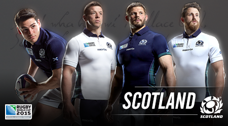 Scotland Rugby World Cup Jersey