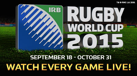 Watch the Rugby World Cup