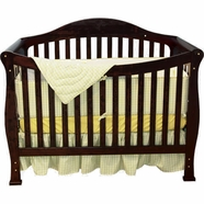 AFG Allie Convertible Crib in Black