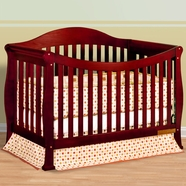 AFG Allie Convertible Crib in Cherry