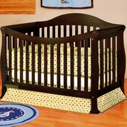 AFG Allie Convertible Crib in Espresso