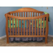 AFG Allie Convertible Crib Pecan