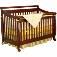 AFG Amy Convertible Crib in Cherry
