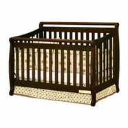 AFG Amy Convertible Crib in Espresso