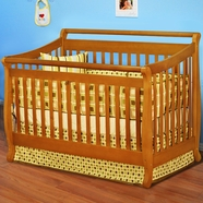 AFG Amy Convertible Crib Pecan