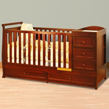 Afg Athena Daphne I 2 In 1 Convertible Crib And Changer