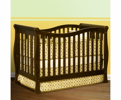 AFG Athena Nadia 3 in 1 Convertible Crib in Espresso