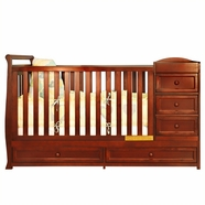 AFG Daphne Crib in Cherry
