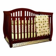 AFG Desiree Convertible Crib in Cherry