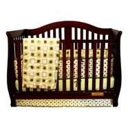 AFG Desiree Convertible Crib in Espresso