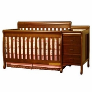 AFG Kimberly Convertible Crib in Espresso