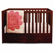 AFG Marilyn Convertible Crib in Cherry