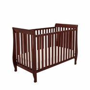 AFG Naomi Convertible Crib in Cherry
