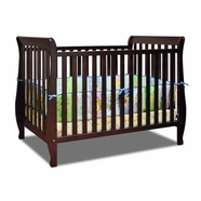 AFG Naomi Convertible Crib in Espresso