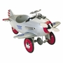 Airflow Collectibles Kids Silver Pursuit Plane
