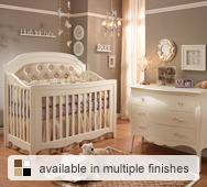 Allegra Convertible Crib Collection by Natart