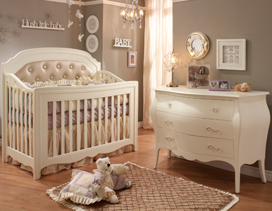 Allegra Convertible Crib Collection