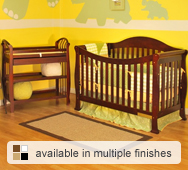 Allie Convertible Crib Collection by AFG