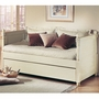 Alligator French Collection Daybed in Distressed White