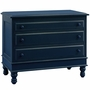 Alligator Monterey Collection 3 Drawer Dresser in Denim Blue