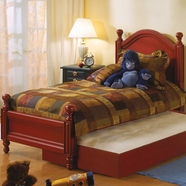 Alligator Monterey Collection Double Bed in Red Spice