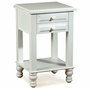 Alligator Monterey Collection Night Stand in Distressed White