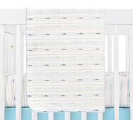 Alphabets Crib Bedding Collection by Babyletto
