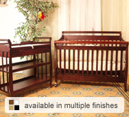 Amy Convertible Crib Collection by AFG