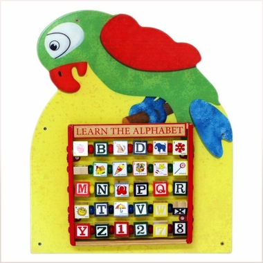 Anatex Parrot Wall Panel - Click to enlarge