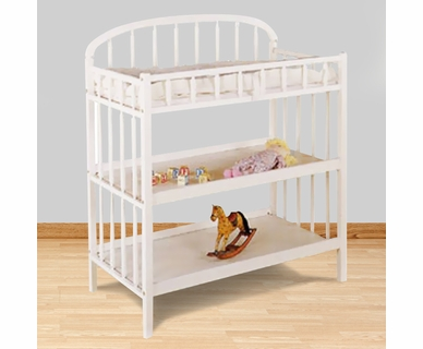 Angel Line Classic Changing Table in White