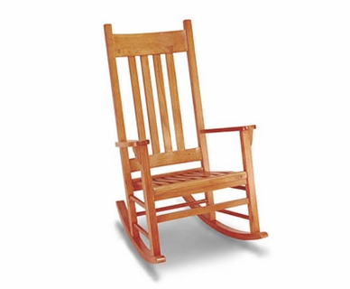 Angel Line Country Adult Rocker in Oak