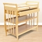 Angel Line Sleigh Changing Table w/Drawer in Natural